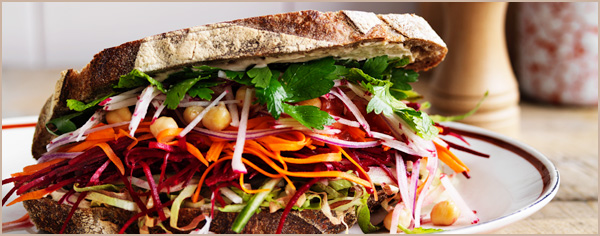 Ultimate Salad Sandwich Recipe
