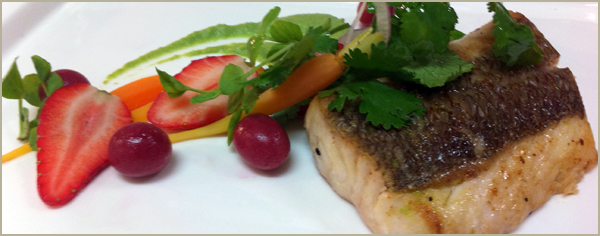 Snapper & Fruit Recipe
