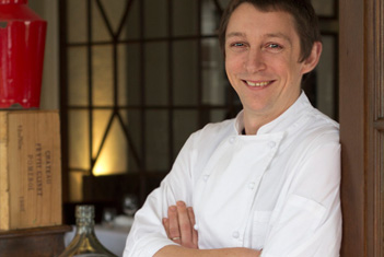 Chef David Willcocks, The Argus Dining Room