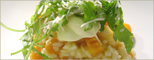 Pumpkin & Vermouth Risotto