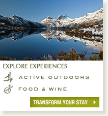 Explore experiences at Peppers Cradle Mountain Lodge
