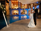 Poolside wedding in Port Douglas