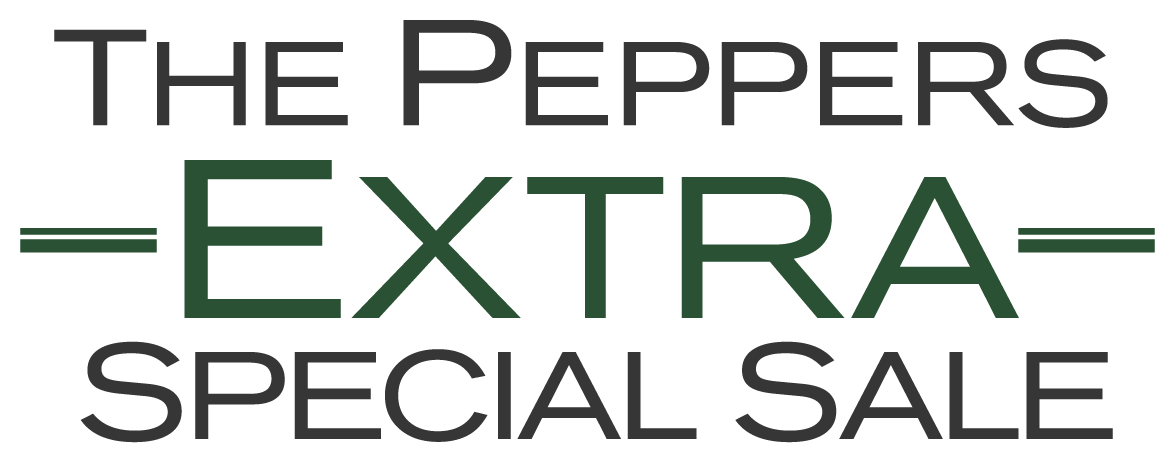 The Peppers Extra Special Sale