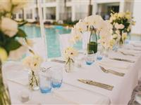 Wedding Setup - Peppers Beach Club - Courtesy of Matthew Evans Photography