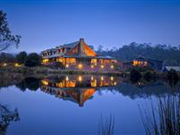Exterior at Night - Peppers Cradle Mountain Lodge