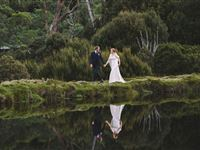 Peppers Cradle Mountain Lodge Wedding - Courtesy of C B Photography