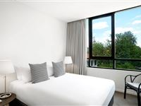 1 Bedroom Apartment Bedroom - Peppers Gallery Canberra