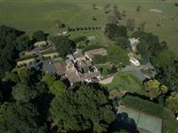 Aerial - Peppers Manor House