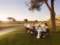 Dining Outdoors  - Peppers Moonah Links Resort