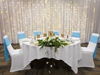 Wedding Round Table setup - Peppers Airlie Beach
