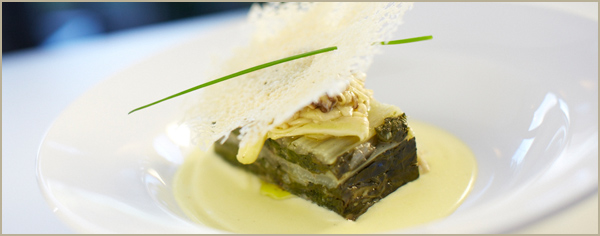 Slow cooked silverbeet & truffle lasagna recipe