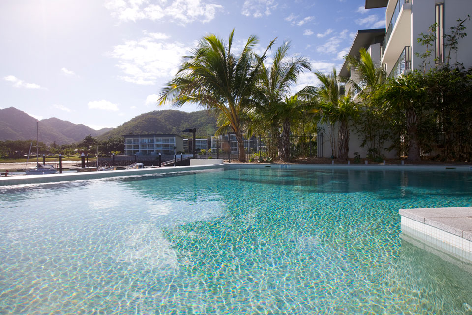Resort with luxurious pool suitable for families on Magnetic Island