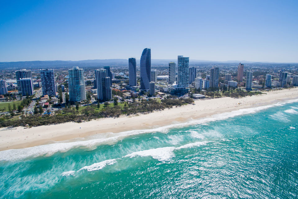 Helicopter tours on the Gold Coast