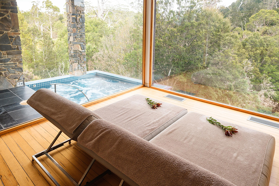 Waldheim Alpine Spa in Cradle Mountain