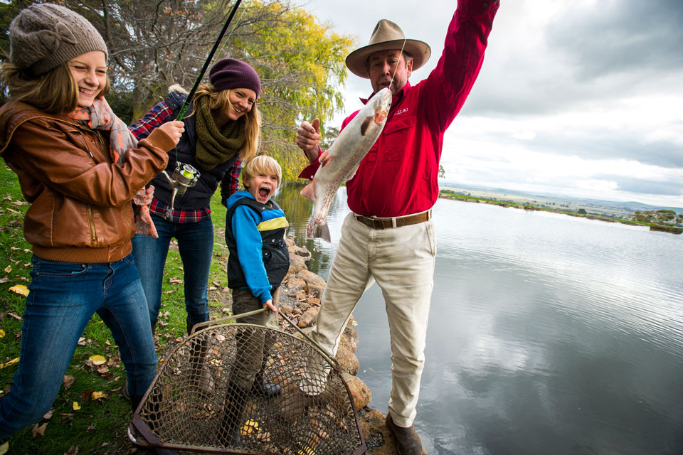 Good fishing spots in Daylesford and Macedon Ranges