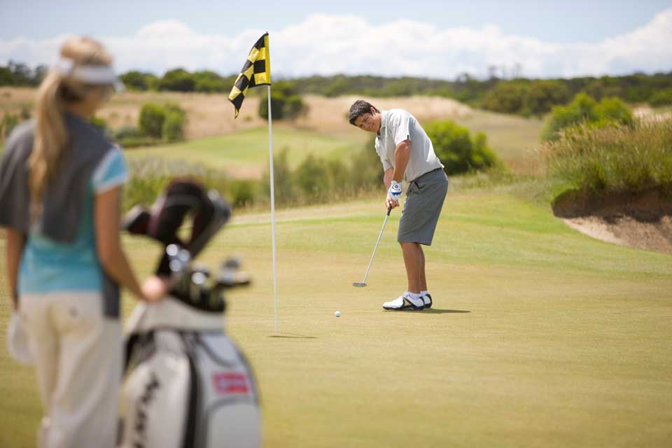 Golf course close to Gold Coast in Kingscliff